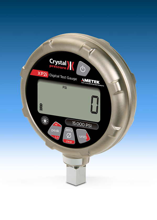 Crystal Engineering XP2i Pressure Gauge